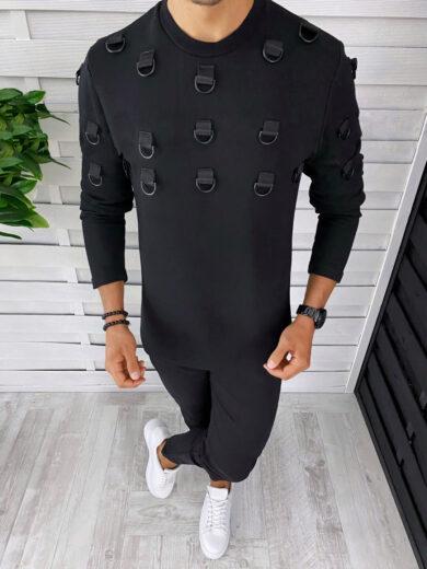 bluza barbati neagra