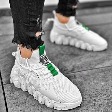 Adidasi Barbati Green Touch